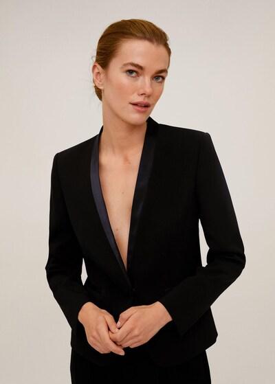 MANGO Blazer 'Leli' in schwarz, Modelansicht