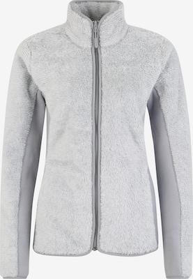 Veste en polaire fonctionnelle 'PINE LEAF' - JACK WOLFSKIN en gris clair