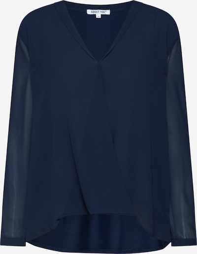 ABOUT YOU 'Irma' Bluse in blau: Frontalansicht
