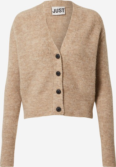 JUST FEMALE Strickjacke 'Rebelo' in beige, Produktansicht