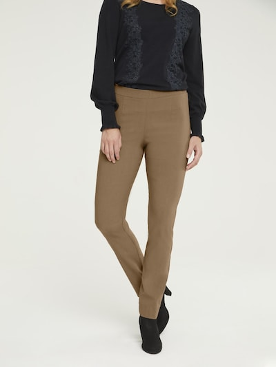 heine Leggings in camel, Modelansicht