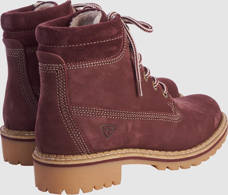 Haltbare Mode billige Schuhe TAMARIS getragene | Leder-Schnürstiefel Schuhe Gut getragene TAMARIS Schuhe ed1e74