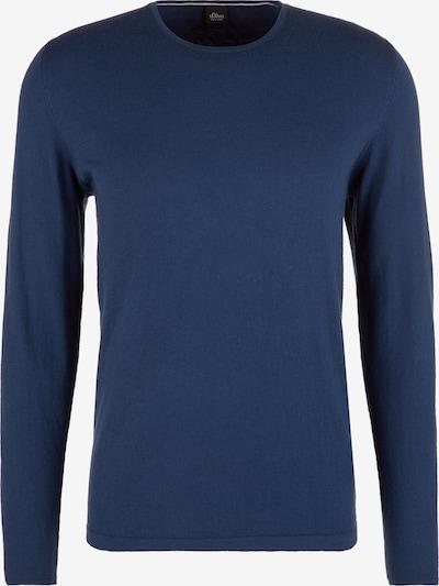 s.Oliver BLACK LABEL Pullover in blau, Produktansicht
