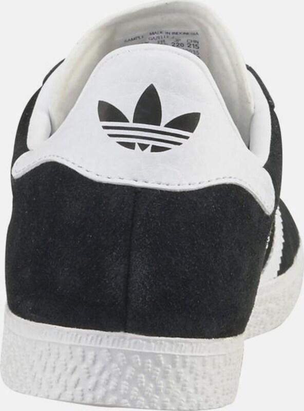 ADIDAS ORIGINALS Sneaker 'Gazelle Junior' in schwarz weiß