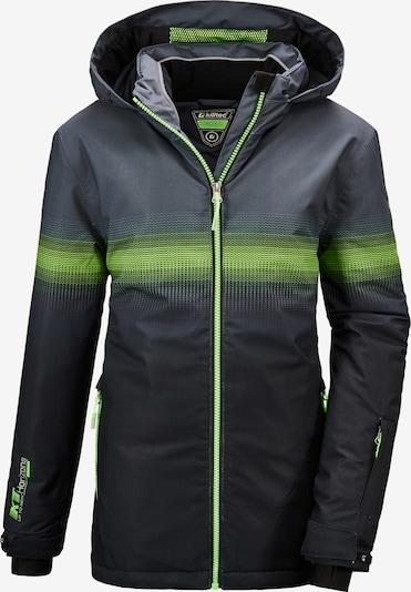 KILLTEC Sportjacke 'Glenshee' in hellgrün / schwarz, Produktansicht