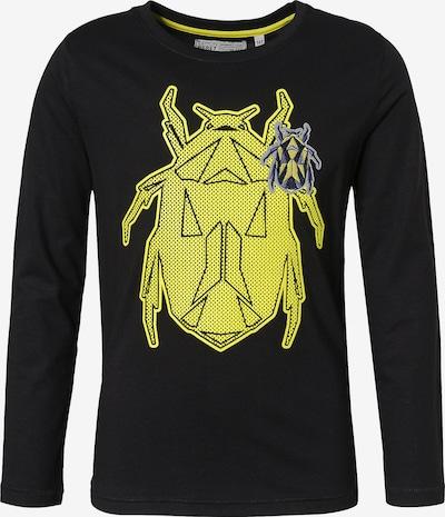 LEMON BERET Langarmshirt in gelb / grau / schwarz, Produktansicht