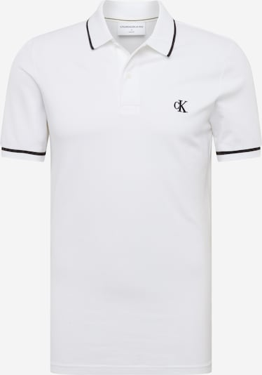 Calvin Klein Jeans Тениска в бяло, Преглед на продукта
