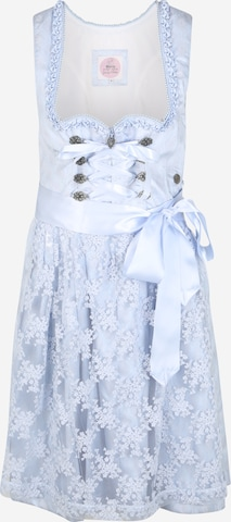Rochițe tiroleze 'Erzana' de la MARJO pe albastru