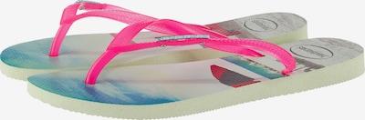 HAVAIANAS Zehentrenner 'Paisage' in mischfarben / pink, Produktansicht