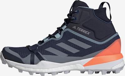 ADIDAS PERFORMANCE Boots 'Terrex Skychaser LT Mid GORE-TEX' in de kleur Blauw / Duifblauw / Sinaasappel, Productweergave