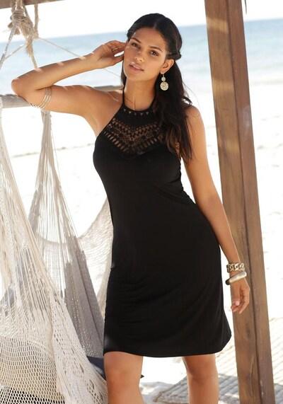 LASCANA Neckholderkleid in schwarz, Modelansicht