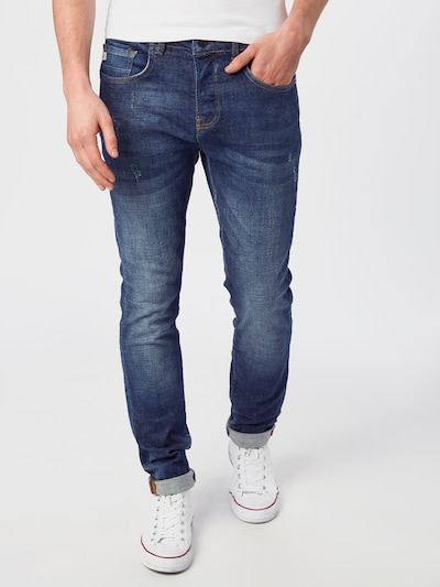 Goldgarn Jeans 'U2 I' in blue denim, Modelansicht