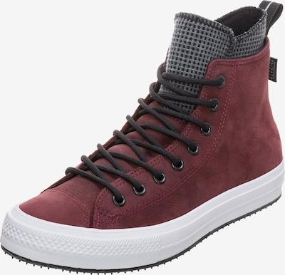CONVERSE Sneaker 'Chuck Taylor All Star' in dunkelgrau / burgunder / schwarz / weiß: Frontalansicht