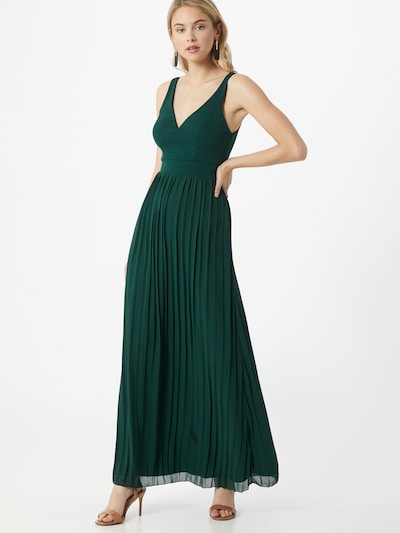 WAL G. Kleid 'WG 8223' in dunkelgrün, Modelansicht