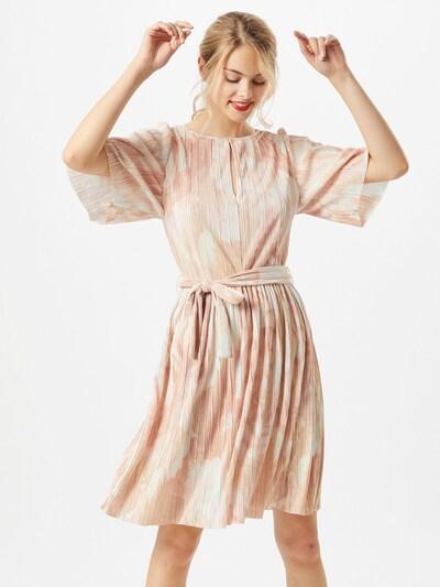 MAX&Co. Jurk 'Prestigi' in de kleur Rosa / Wit: Vooraanzicht