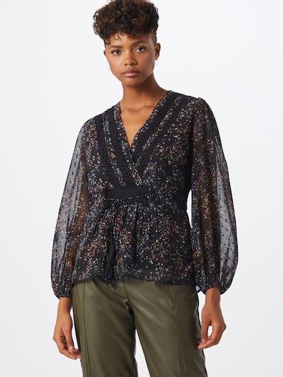 OBJECT Bluse 'MILO' in schwarz, Modelansicht