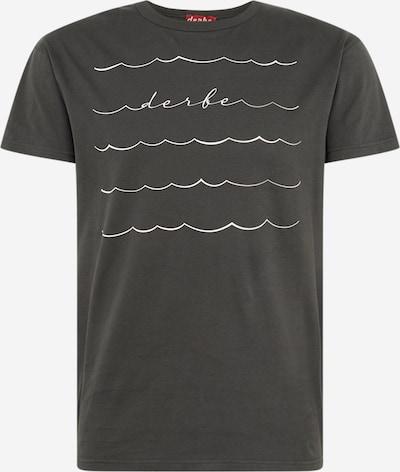 Derbe Shirt 'Sweeping Tee' in dunkelgrau, Produktansicht