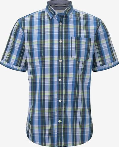 TOM TAILOR Hemd in blau / hellblau / pastellgrün / schwarz, Produktansicht