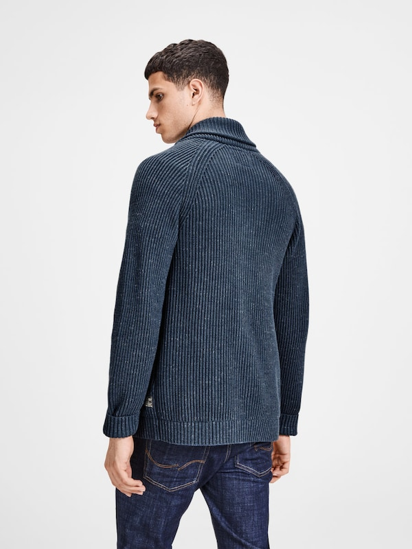 JACK & JONES Lässiger Strick-Cardigan