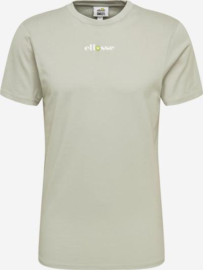 ELLESSE Shirt 'RAPALLO' in hellgrau / weiß, Produktansicht