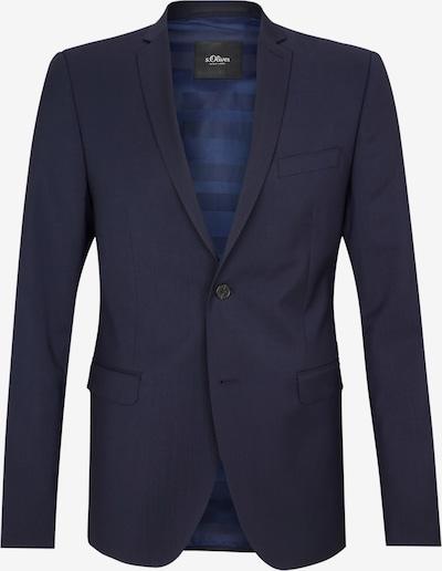 s.Oliver BLACK LABEL Veste de costume 'Cesano ' en bleu foncé, Vue avec produit