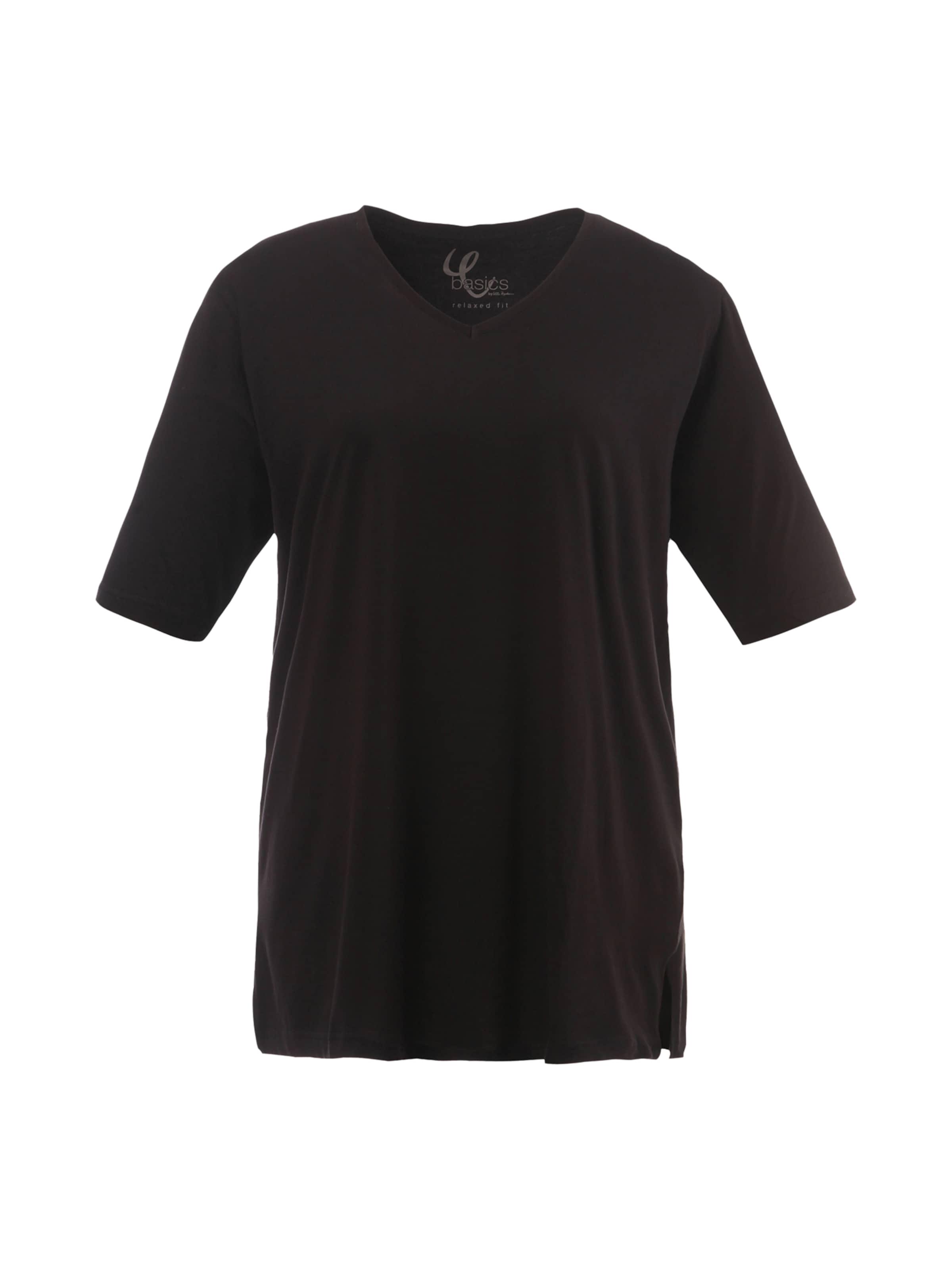 Ulla shirt T Popken En Noir H9IEWD2