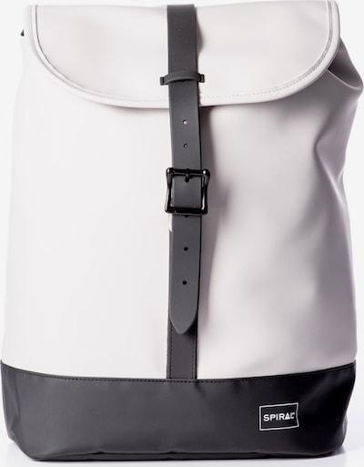 SPIRAL Rugzak 'RUSH' in de kleur Zwart / Wit, Productweergave
