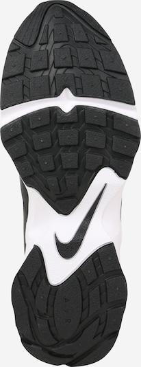 Nike Sportswear Sneakers laag 'AIR HEIGHTS' in de kleur Zwart / Wit: Onderaanzicht