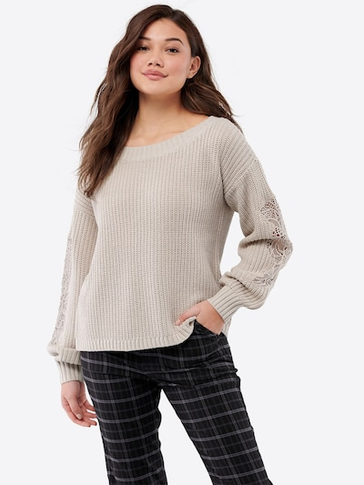 HOLLISTER Pullover in hellbraun, Modelansicht
