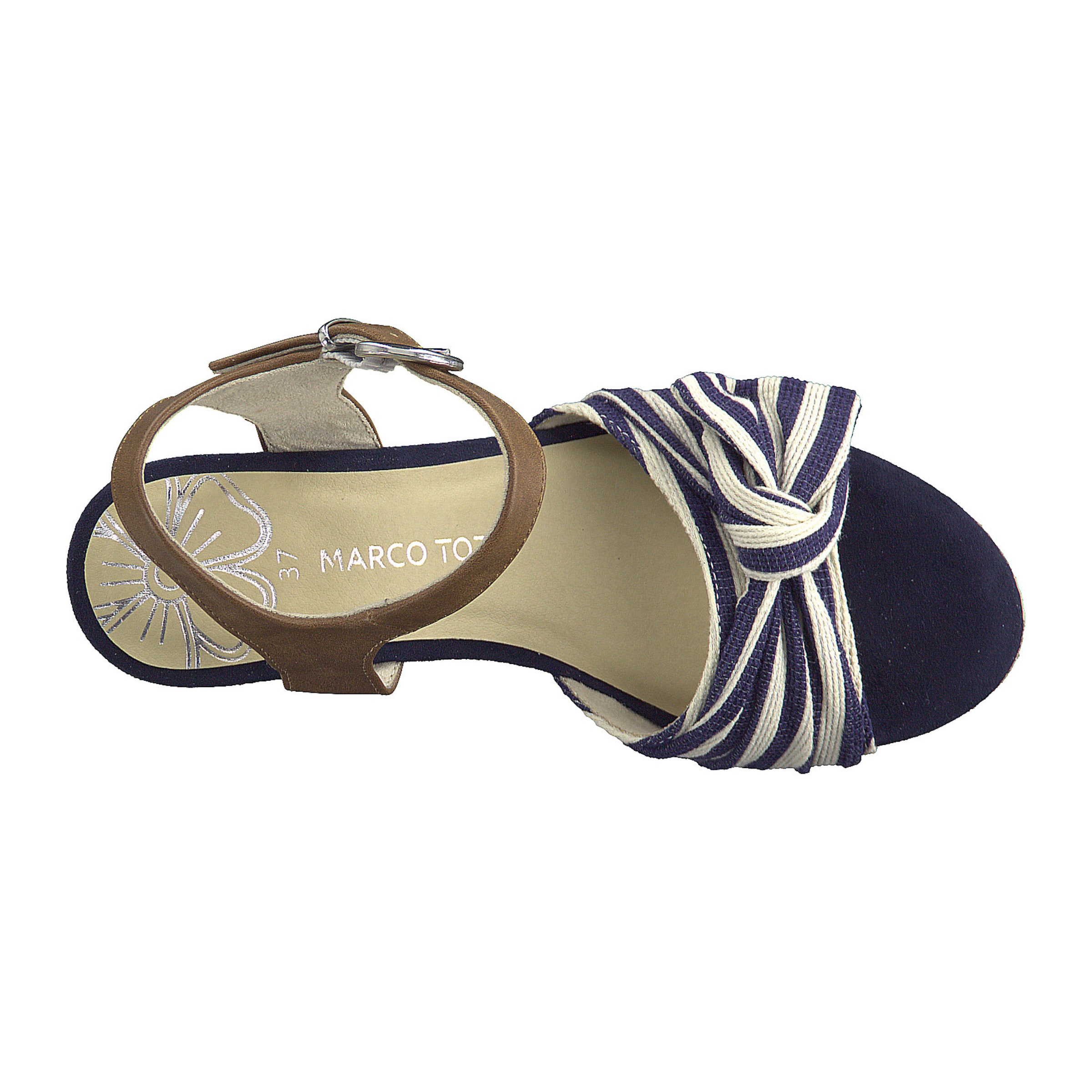 NudeMarine In Tozzi Marco Brokat Sandalette 1TlKJFc3