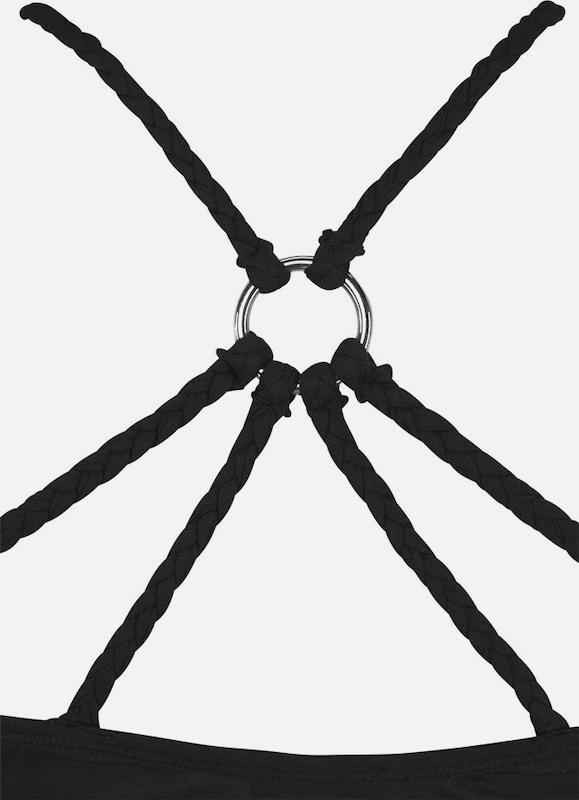 BUFFALO Kleid mit geflochtenen Trägern