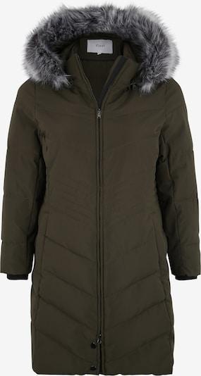 Zizzi Zimný kabát 'MLUXA' - zelená, Produkt