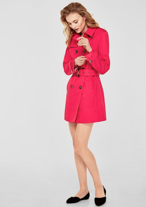 s.Oliver RED LABEL Klassischer Trenchcoat