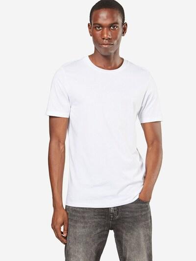 SELECTED HOMME Koszulka 'SHDTHEPERFECT SS O-NECK TEE NOOS' w kolorze białym: Widok z przodu