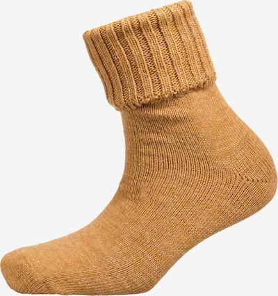 camano Socken in dunkelorange, Produktansicht