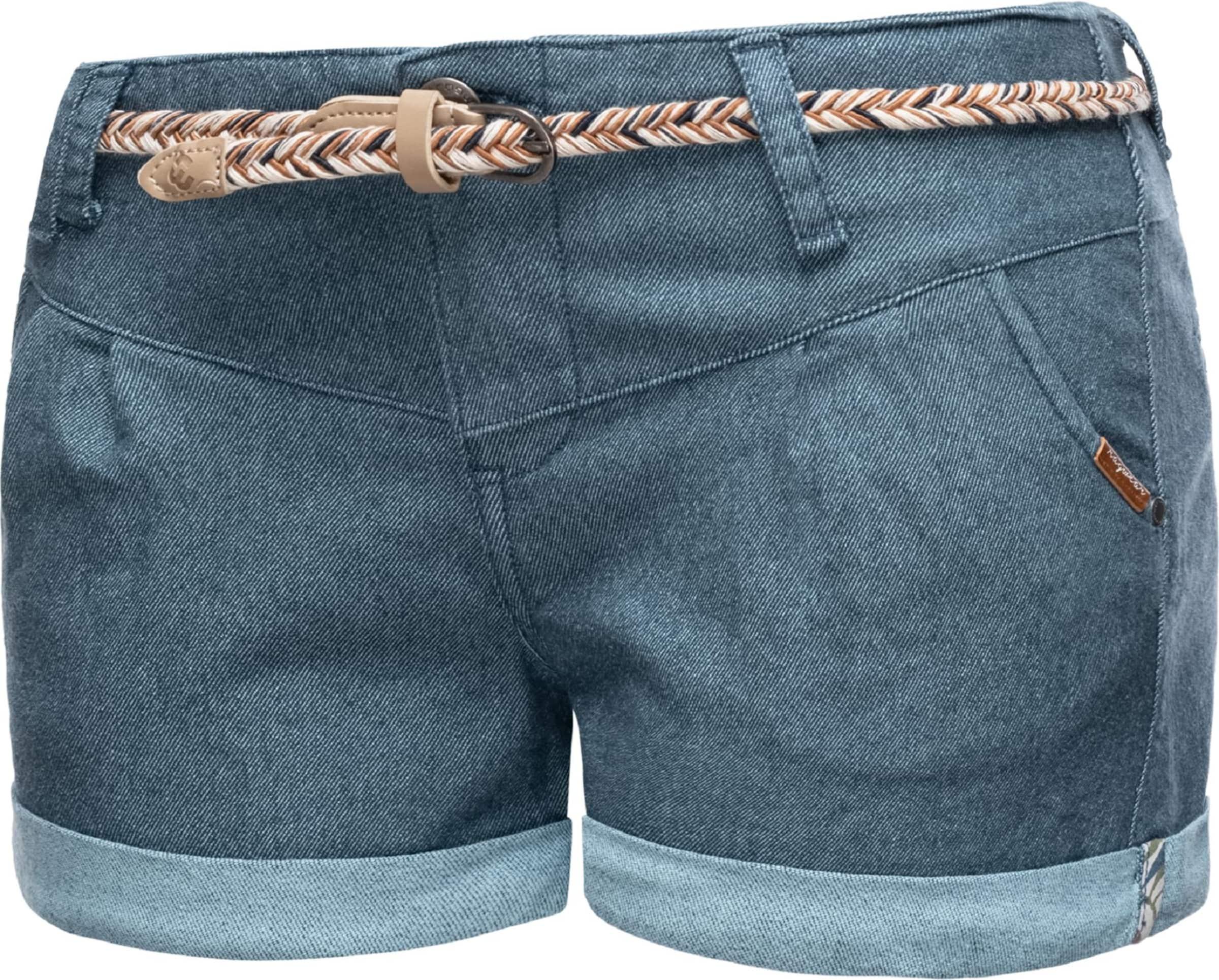 Ragwear Shorts 'Heaven A' in blue denim