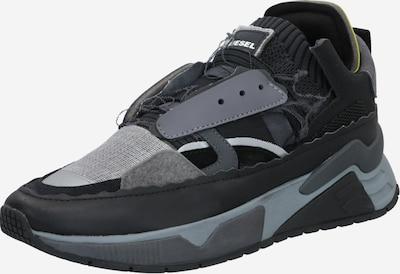 DIESEL Sneaker 'Brentha' in grau / schwarz, Produktansicht