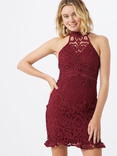 Love Triangle Kleid 'Laetitia' in bordeaux, Modelansicht