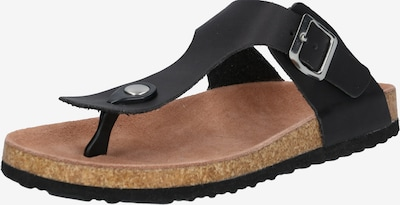 ABOUT YOU Teenslipper 'Elin' in de kleur Zwart, Productweergave