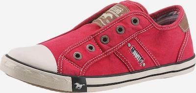 barna / piros / fehér MUSTANG Rövid szárú edzőcipők, Termék nézet