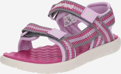 TIMBERLAND Sandale 'Perkins Row Webbing' in pink / hellpink, Produktansicht
