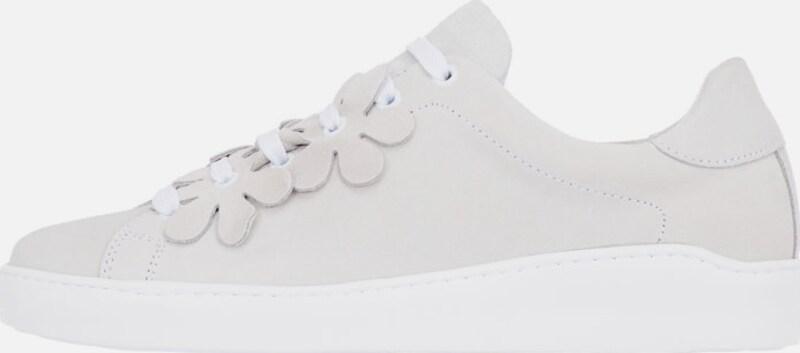 Bianco Blumendetail Sportschuhe