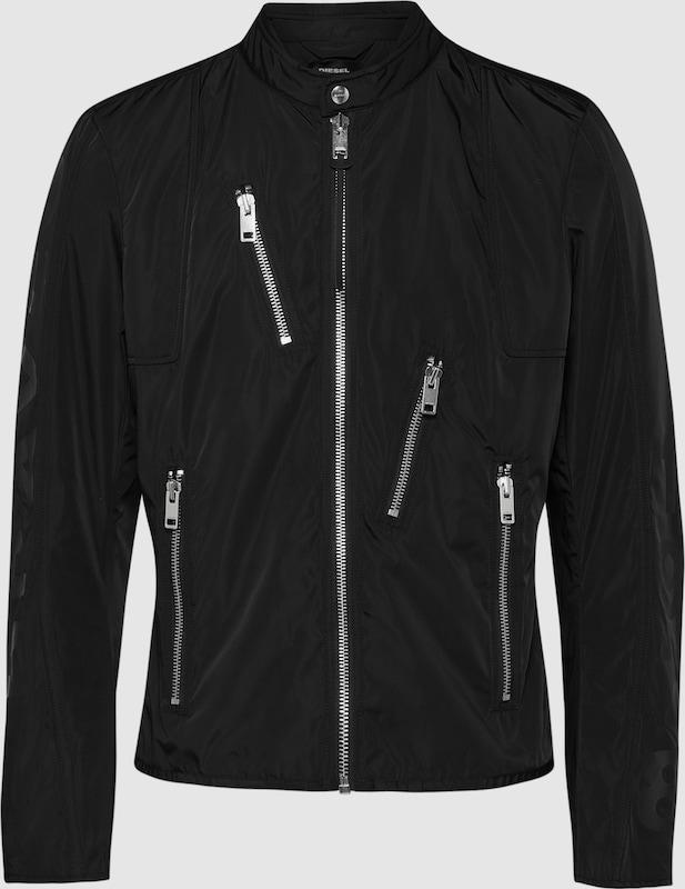 DIESEL Jacke in schwarz  Markenkleidung für Männer und Frauen