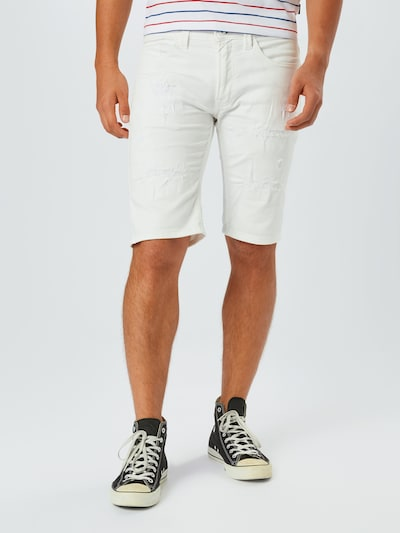 INDICODE JEANS Jeans 'Commecial' i vit, På modell