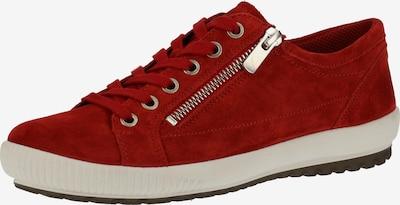 Legero Baskets basses en rouge, Vue avec produit