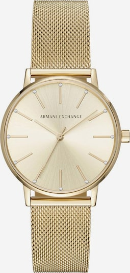 ARMANI EXCHANGE Quarzuhr 'AX5536' in gold, Produktansicht