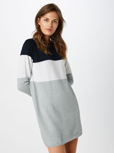 ONLY Knit dress in Night blue / White, View model
