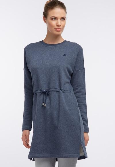 DREIMASTER Kleid in marine, Modelansicht