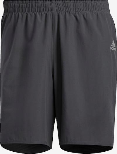 ADIDAS PERFORMANCE Pantalon de sport 'Own The Run Cooler' en gris / anthracite, Vue avec produit