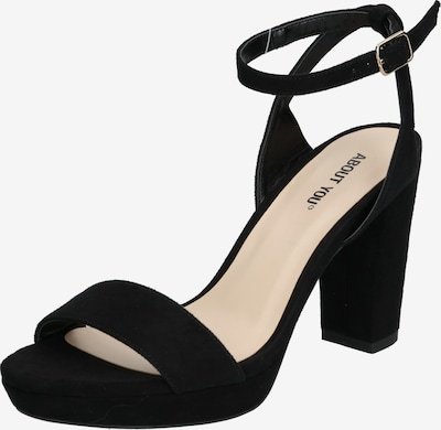 ABOUT YOU Strap sandal 'Christin' in Black, Item view